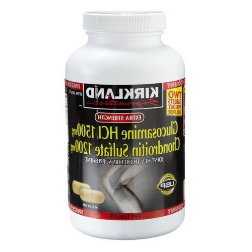 Kirkland Extra Strength Glucosamine HCI  & Chondroitin Sulfa