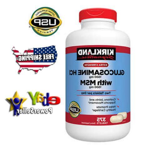 KIRKLAND SIGNATURE Extra Strength Glucosamine  MSM  Joint He