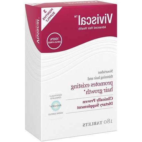 Viviscal Extra Nutrient Tablets, 180-Tablets