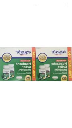 extra strength headache relief 400 tabs acetaminophen
