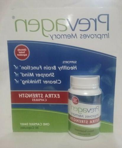 extra strength improves memory 30 capsules new