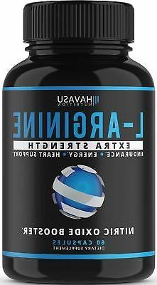 Extra Strength L Arginine - 1200mg Nitric Oxide Supplement f