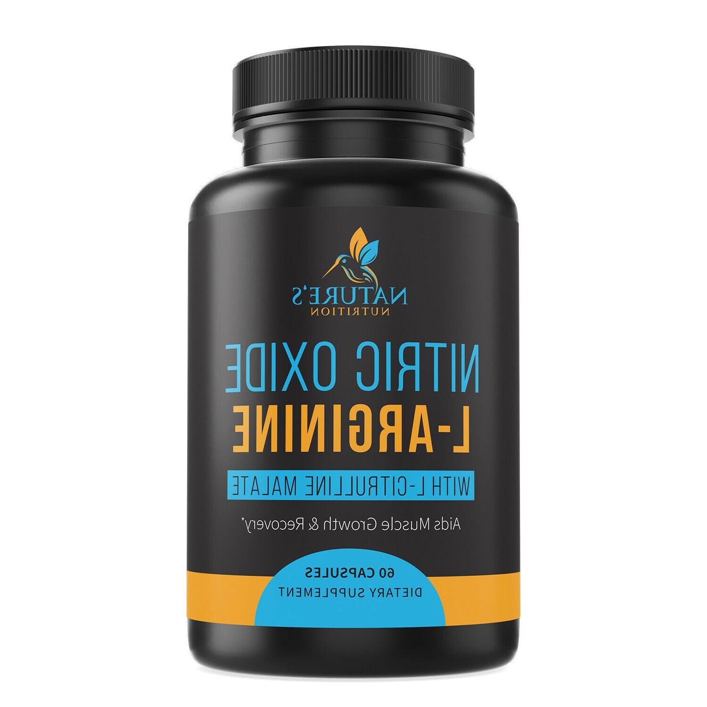 extra strength l arginine nitric oxide supplement