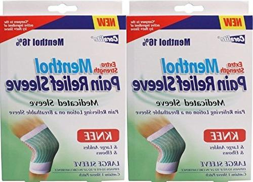 extra strength menthol pain relief
