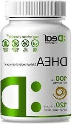 Extra Strength Micronized DHEA Dehydroepiandrosterone 100mg