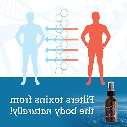 Pure Body Advanced Detox Zeolite by Natural Immunity, 60mL