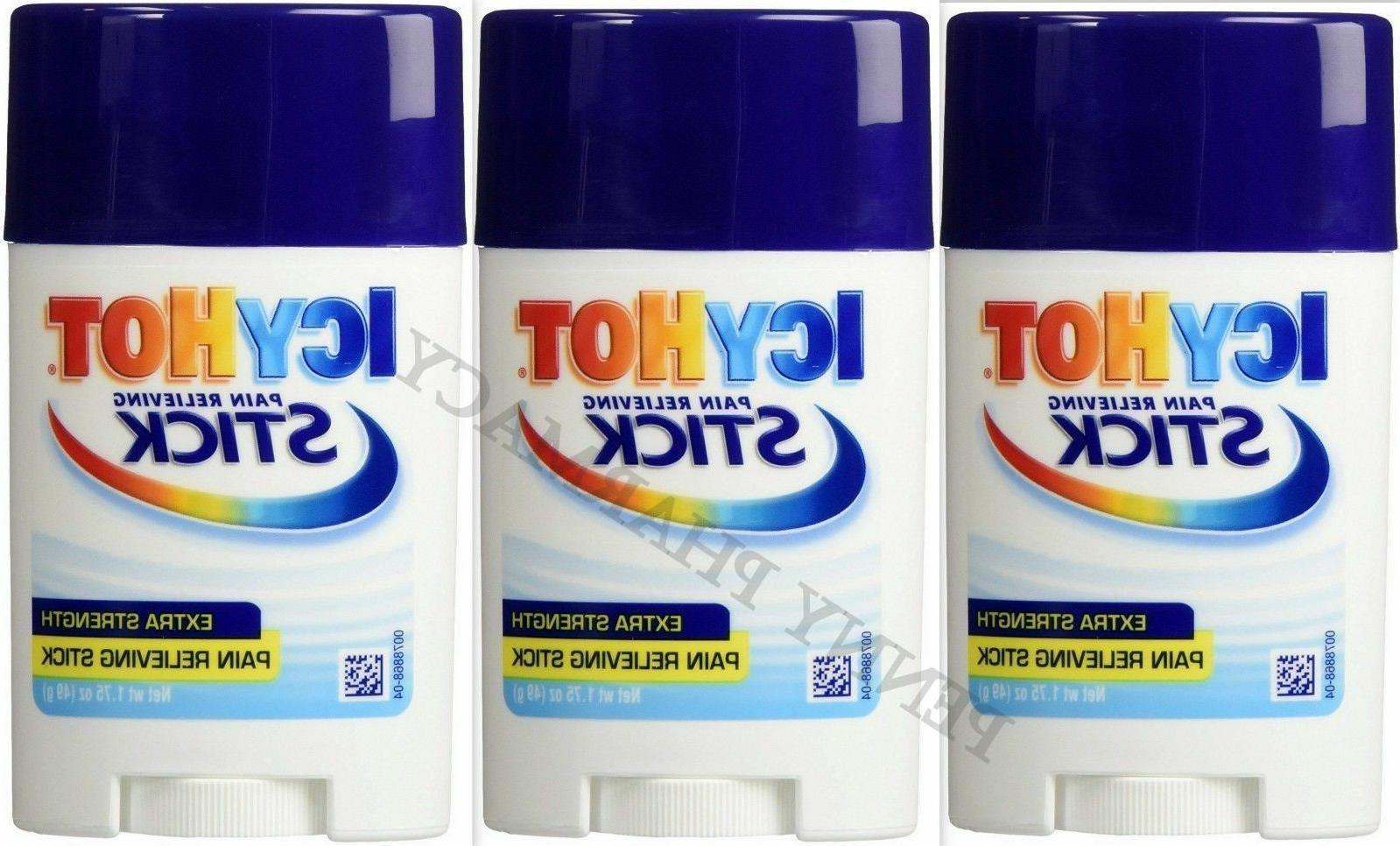 Icy Hot STICK Extra Strength Pain Relief 1.75oz  PHARMACY FR