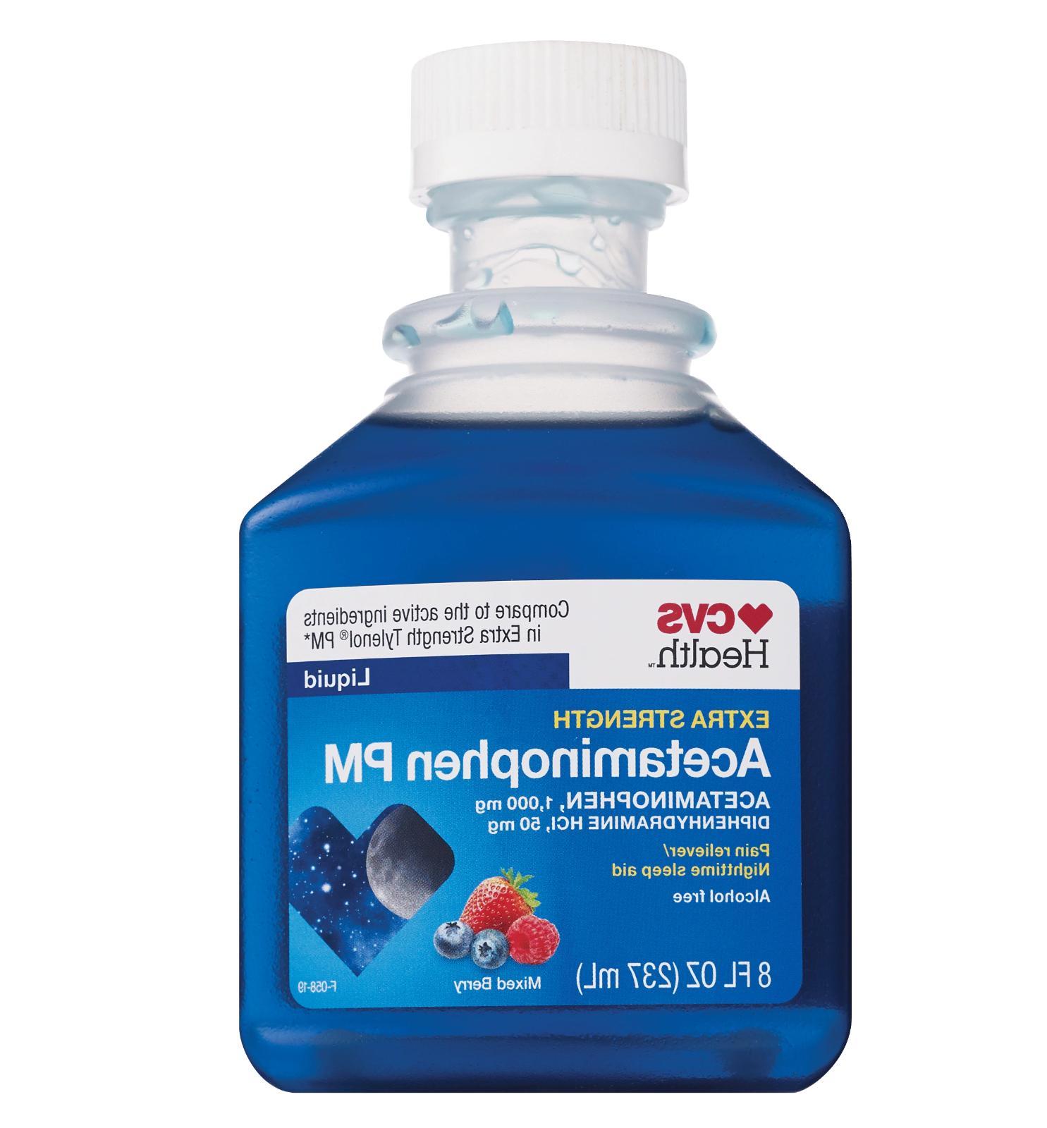 CVS Strength Acetaminophen mg HCl mg