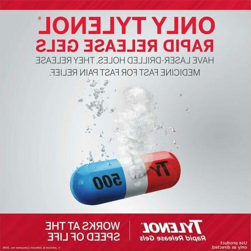 Tylenol Extra Strength Release Acetaminophen