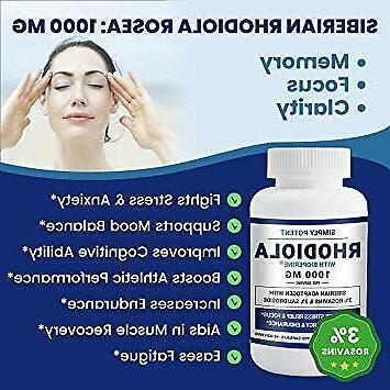 Vegan Bioperine mg 3 Month Supply 3% Salidroside