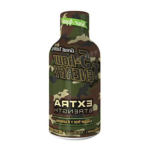 extra strength shots sour apple