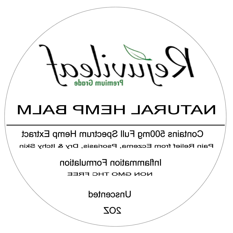 extra strength unscented hemp balm salve 500mg