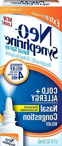 Neo-Synephrine Extra Strength Spray 0.50 oz