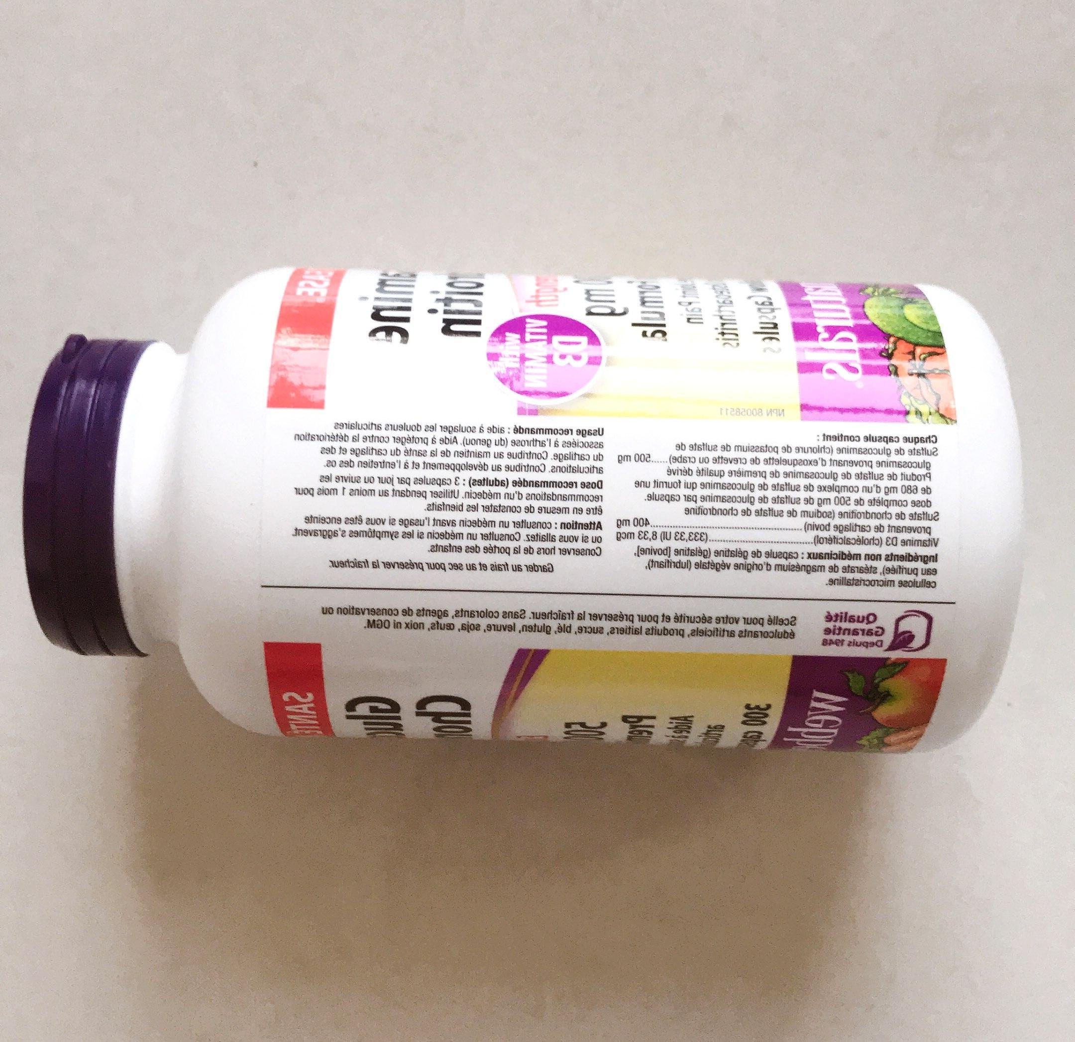 Free Glucosamine Chondroitin <font><b>EXTRA</b></font> <font><b>STRENGTH</b></font> <font><b>500</b></font>/400 300 pcs