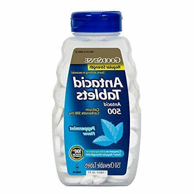 goodsense calcium regular strength tablets