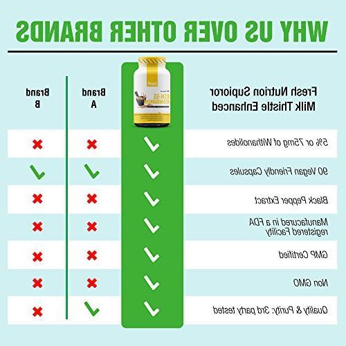 KSM-66 Ashwagandha - Organic Root Extract - 700mg