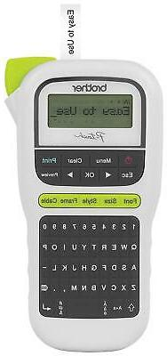 Label Maker Lightweight QWERTY Keyboard One-Touch Keys Easy