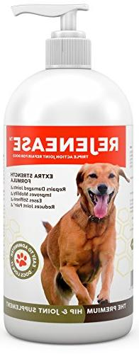 Premium Liquid Glucosamine Hip and Joint Supplement for Dogs