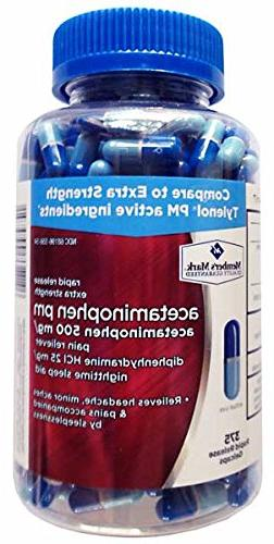 Member's Mark Acetaminophen PM Gelcaps - 375 ct.