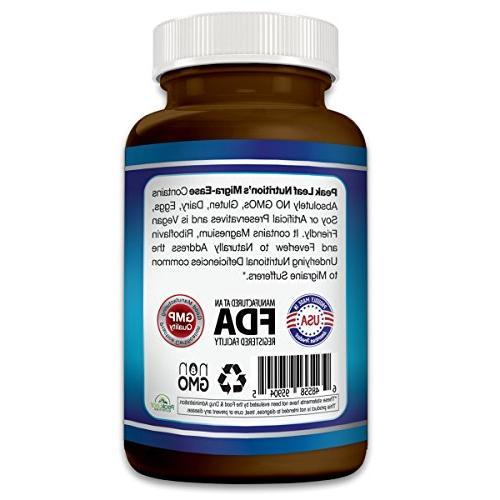 MIGRA-Ease - Migraine Relief Vegetarian Strength –