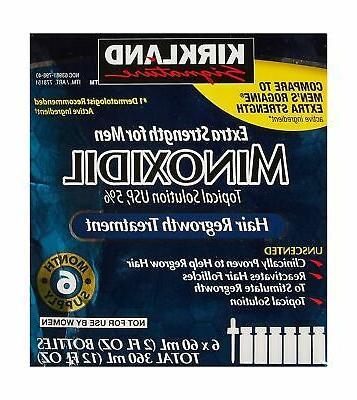 minoxidil extra strength hair regrowth