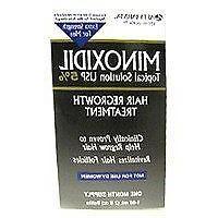 Mens Minoxidil 5 Percent extra strength hair regrowth treatm