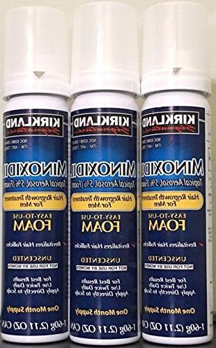 minoxidil hair growth treatment unscented