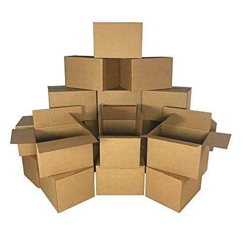 UBOXES Medium Boxes 18 x 12 Inches of 20