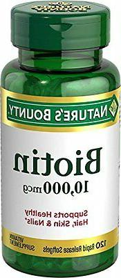 Nb Biotin 10000mcg Softge Size 60ct Nb Biotin 10000mcg Softg