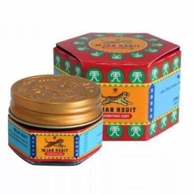NEW Tiger Balm Red Extra Strength Ointment, 10g Camphor Ment