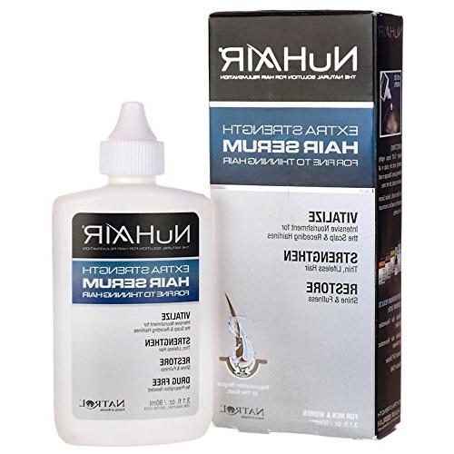 NuHair Extra Strength Thinning Hair Serum For Men and Women