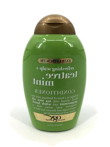 Ogx Conditioner Tea Tree Mint Extra-Strength 13 Ounce