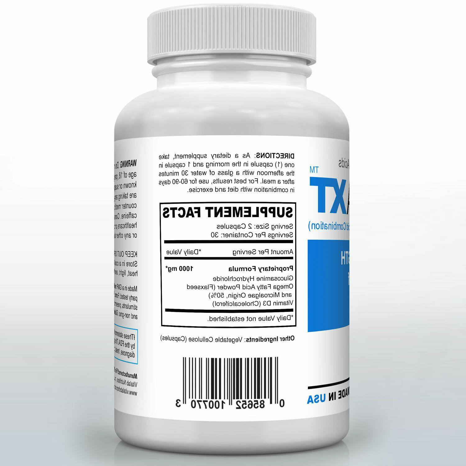 Omega XT New Strength Support Omega-3 Potent Joint 60ct