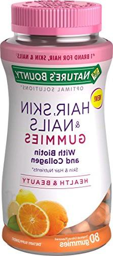 Nature's Bounty Optimal Solutions Hair, Skin & Nails with Bi