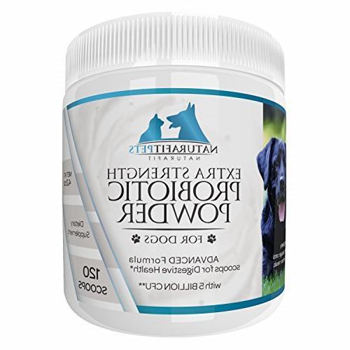 probiotic powder dogs extra strength