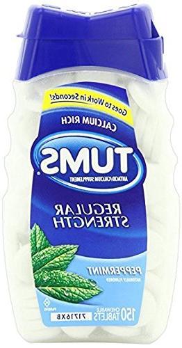 regular strength antacid chewable tablets