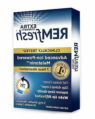 REMfresh 5mg Melatonin - Formulation