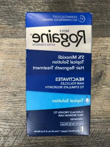 rogaine extra strength 5 percent minoxidil topical