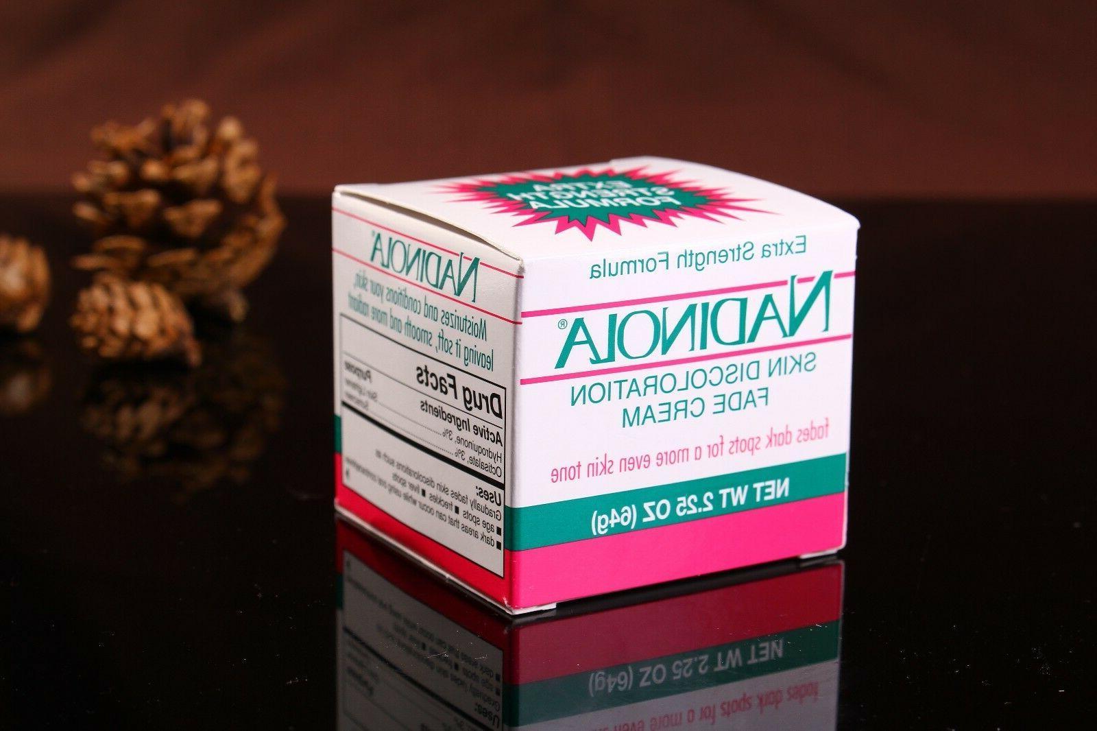Nadinola Skin Discoloration Cream Extra oz