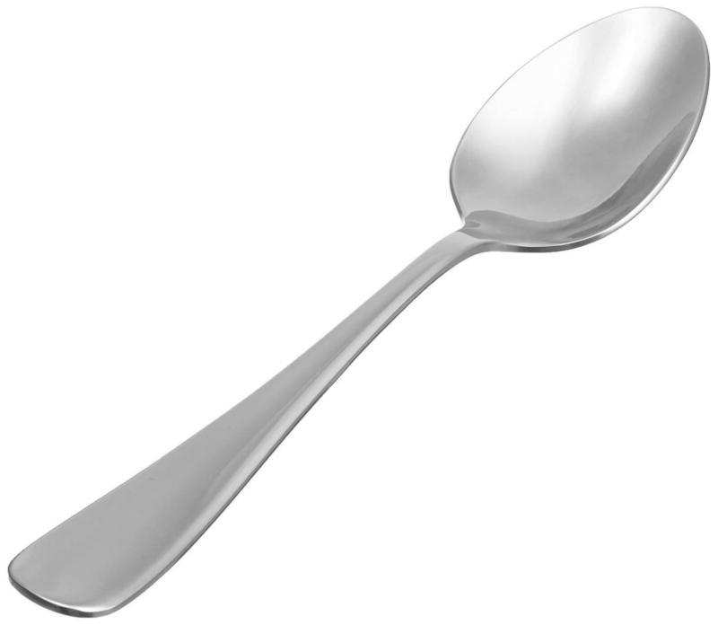 stainless steel dinner spoons with round edge