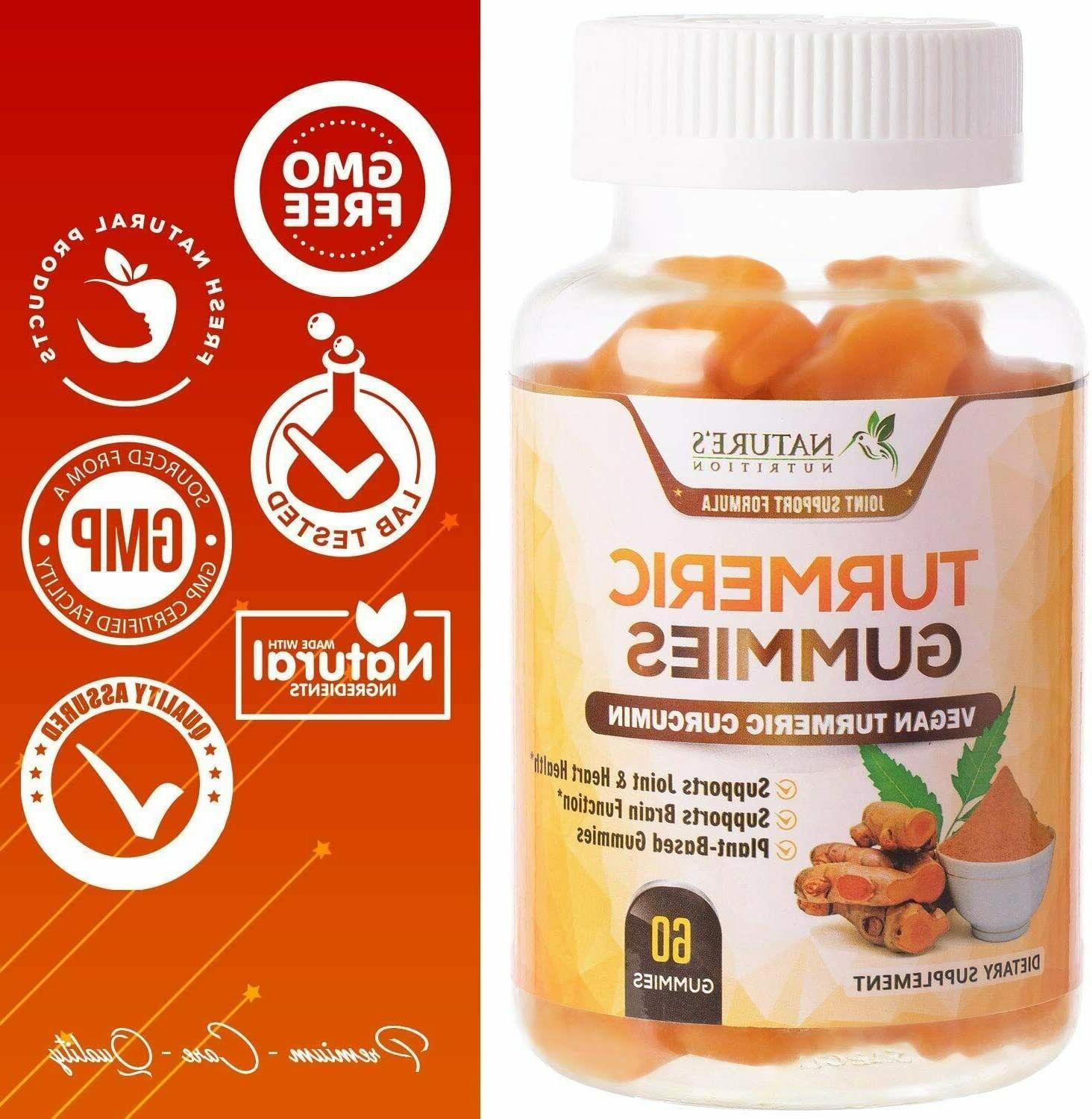 Turmeric Extra Strength Chewable Support Gummy, High