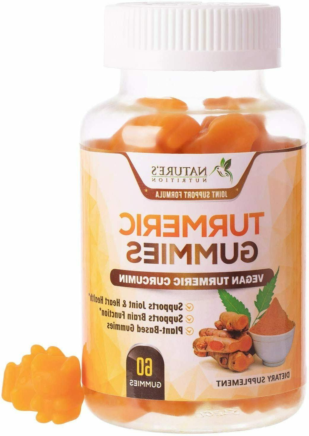 turmeric gummies extra strength chewable joint support