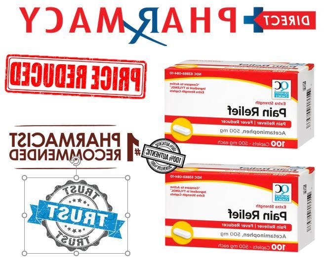 tylenol extra strength gen acetaminophen 500 mg