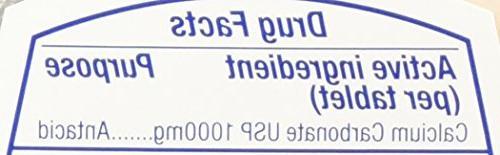Tums Ultra 1000 Strength Antacid Supplement,