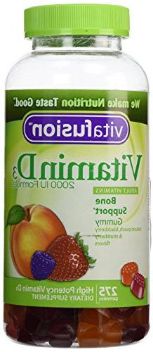 VitaFusion Vitamin D3 2,000 IU Gummy Vitamins for Adults - 2