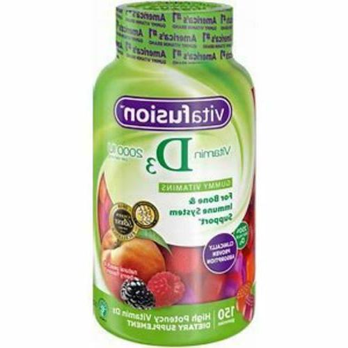 vitamin d3 gummy vitamins