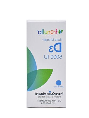 Frunutta Vitamin the - 5000 IU Instant Dissolve Tablets Month Supply