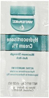 Waterjel 2691 1 Percent Hydrocortisone Anti-Itch Cream Pack,