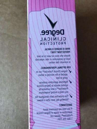 Degree Women Clinical Deodorant 1.7 oz
