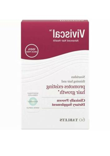 Women's Viviscal as Strength 60 Tablets One Month